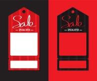 3d wizerunku ceny czerwień odpłacająca się etykietka Zdjęcia Royalty Free