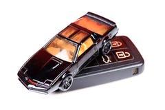 3d wizerunku samochodowy klucz Zdjęcie Stock