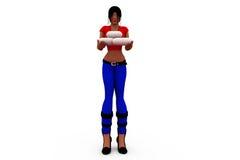3d woman medicine concept Stock Photo