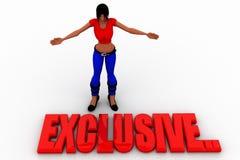 3d women exclusive Stock Photos
