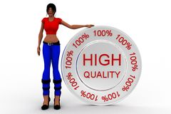 3d women high quality Stock Photo