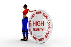 3d women high quality Stock Photography