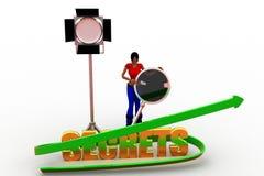 3d  women  secrets Stock Photos