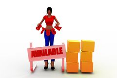 3D women stock available illustration Stock Photos