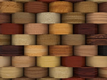 3d wood background Stock Photo