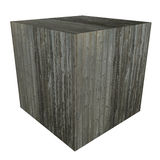 3D Wooden box Stock Photos