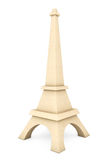 3d Wooden Eiffel tower statue Royalty Free Stock Photography