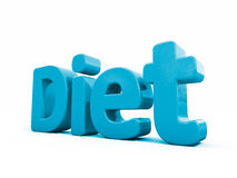 3d word diet Royalty Free Stock Images