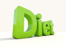3d word diet Stock Images