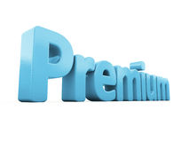 3d word premium Stock Image