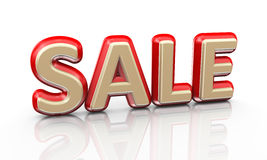 3d word sale Royalty Free Stock Images