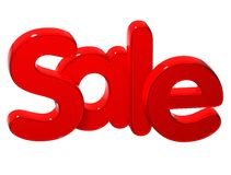 3D Word Sale over white background. 3D Word Sale over white background Royalty Free Stock Photography