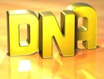 3D Word sur le fond jaune Images stock