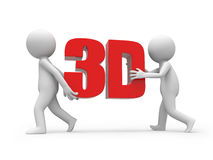 3d word Royalty Free Stock Photography