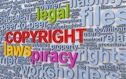 3d Wordcloud redacta etiquetas de los derechos reservados libre illustration