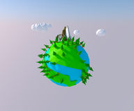 3d world Royalty Free Stock Images