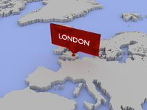 3d world map illustration london england stock image image of 3d world map illustration london england stock photography gumiabroncs Choice Image