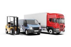 3d world wide cargo transport. Concept vector illustration