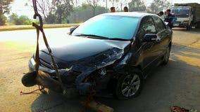 3d wypadkowa samochodowa ilustracja odizolowywający odpłacający się biel Zdjęcie Stock