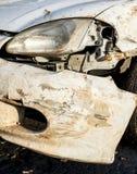 3d wypadkowa samochodowa ilustracja odizolowywający odpłacający się biel Obrazy Stock