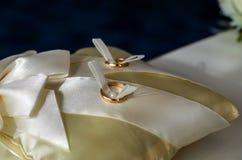 3d wytwarzał ringowego wizerunku ślub Obraz Royalty Free