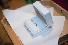 3d wytwarzał ringowego wizerunku ślub Obrazy Royalty Free