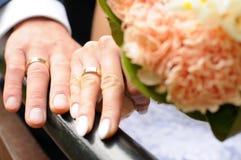 3d wytwarzał ringowego wizerunku ślub Zdjęcia Royalty Free