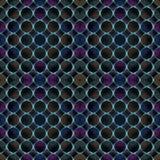 3D wzór - abstrakcjonistyczny bezszwowy wzór Fotografia Royalty Free