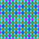 3D wzór - abstrakcjonistyczny bezszwowy wzór Zdjęcie Royalty Free