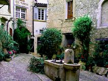 D& x27 St Paul de Vence Коута; Azur Франция Стоковые Изображения