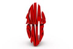3d xmas sale concept Stock Image