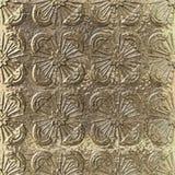 3D złoty kruszcowy bezszwowy wzór royalty ilustracja