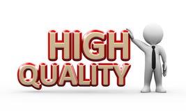 3d zakenman die zich met hoogte bevinden - kwaliteit vector illustratie