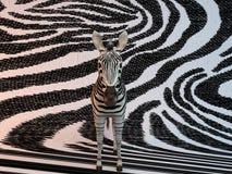 3d Zebra pattern Royalty Free Stock Photography