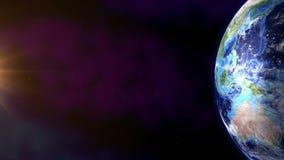 3 d ziemi pozbawione linii horyzontu interliniuje