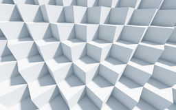 3d zwart-wit achtergrond met kubussen Stock Foto's