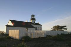D53 Point Loma Lighthouse. Lighthouse at Point Loma, San Diego, California stock image