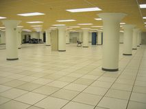 D7564 Data Center. Largely empty datacenter royalty free stock photos