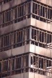 Daño de fuego Foto de archivo