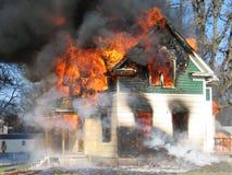 Daño de humo Fotos de archivo libres de regalías