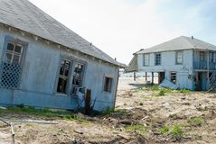Daño de Hurircane Fotos de archivo