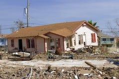 Daño de Hurircane Fotografía de archivo