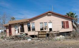 Daño de Hurircane Foto de archivo libre de regalías