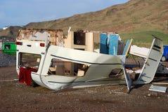 Daño de la tormenta. fotografía de archivo