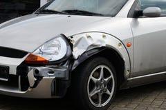 Daño del accidente de tráfico Imagen de archivo