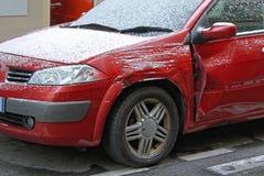 Daño del coche imagenes de archivo