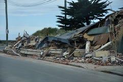 Daño del edificio Fotos de archivo