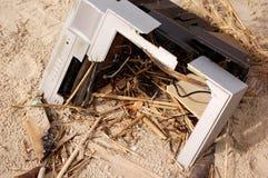Daño del huracán Imagen de archivo