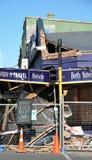 Daño del terremoto, Christchurch Nueva Zelandia Fotografía de archivo