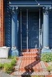 Daño del terremoto, Lyttelton, Christchurch, Nueva Zelanda fotos de archivo